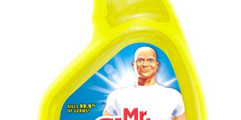 mr clean multi surfaces antibacterial spray lemon scent