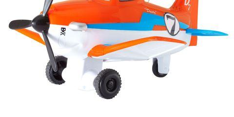 mattel disney planes pilot pals dusty crophopper remote control plane