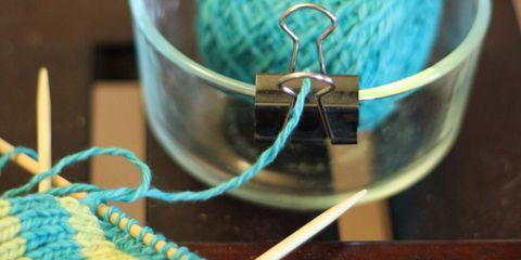 Blue, Green, Textile, Teal, Aqua, Turquoise, Azure, Thread, Electric blue, Craft,