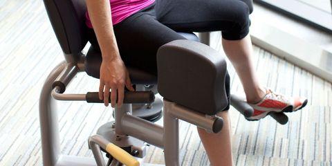 seated hip machine