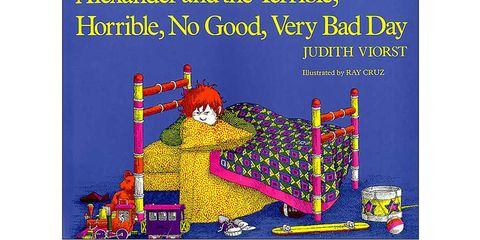 childrens books, Alexander and the Terrible, Horrible, No Good, Very Bad Day