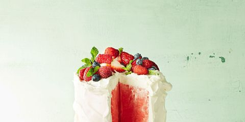 """no cook watermelon """"cake""""   mother's day desserts"""