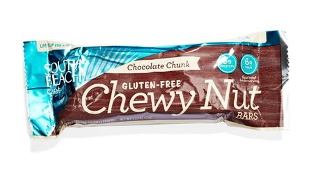 south beach diet chewy nut bar in chocolate chunk