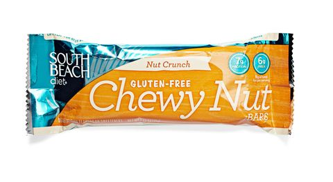 south beach diet chewy nut bar in nut crunch