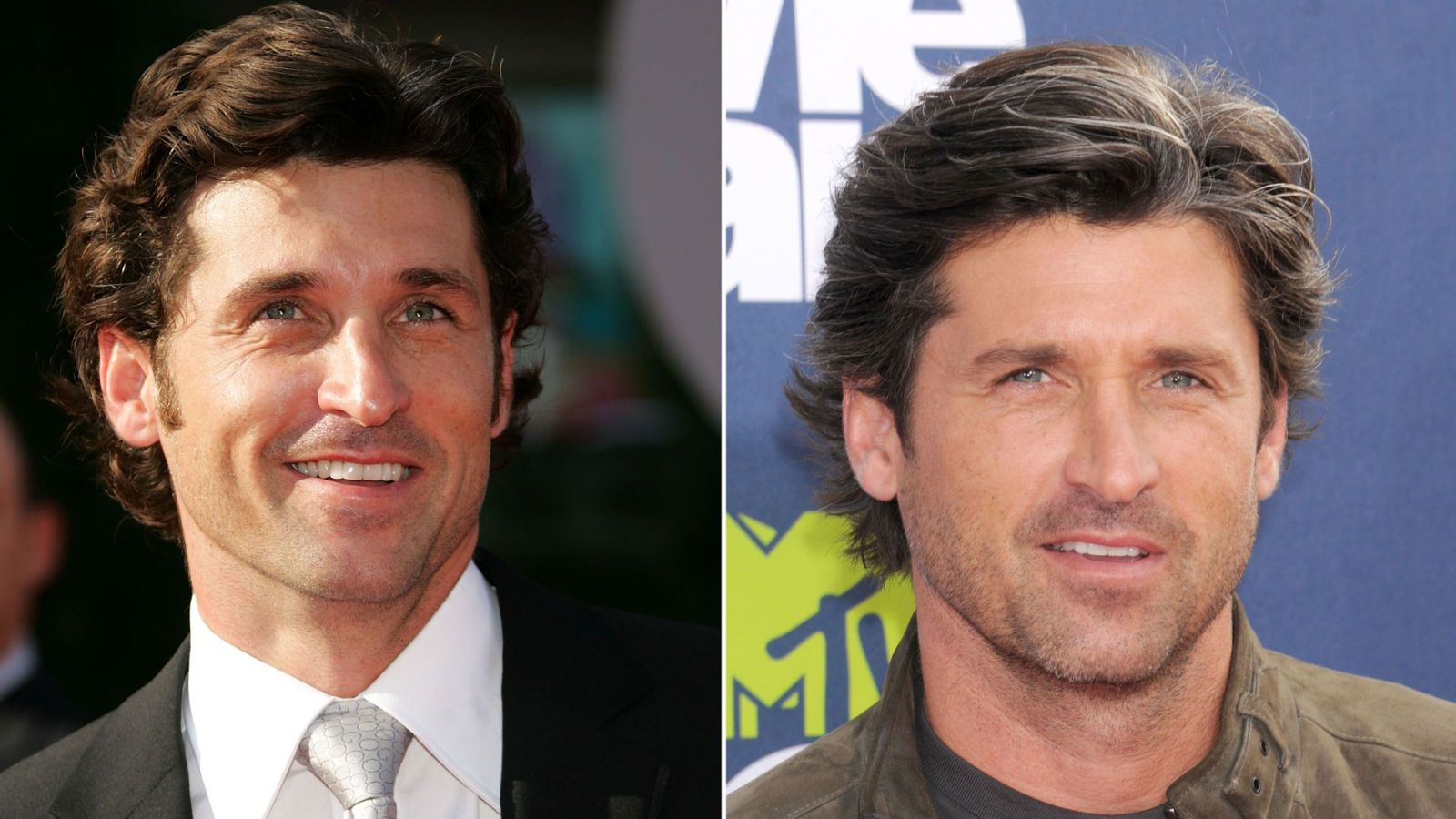 celebrities aging backward - patrick dempsey