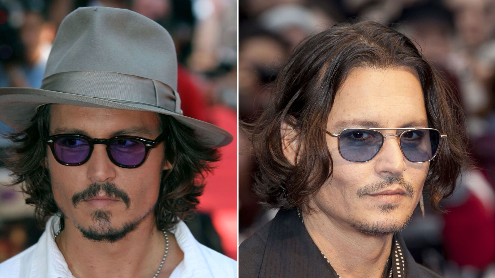 celebrities aging backward - johnny depp