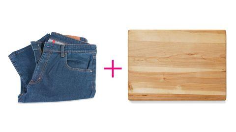 loosen too-skinny jeans