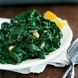 sauteed spinach with garlic and lemon
