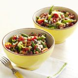 tomato-couscous-with-olives-and-green-beans