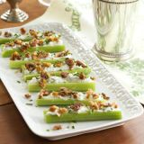 blue cheese-stuffed celery