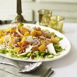 roasted squash with walnuts