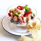 mixed berry ceviche