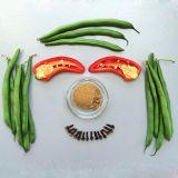 Green, Ingredient, White, Produce, Organ, Flowering plant, Legume, Common bean, Tooth, Legume family,