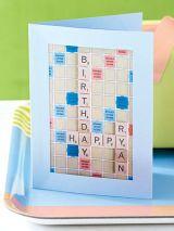Scrabble Card