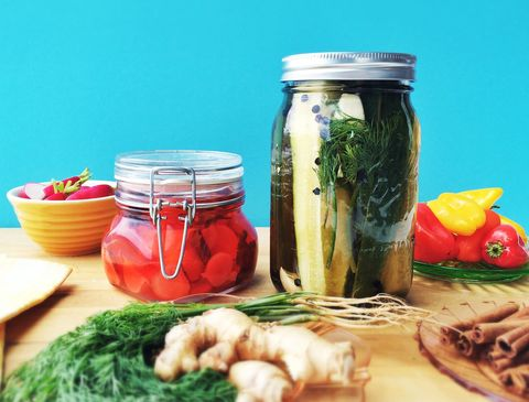 Food, Ingredient, Food storage containers, Produce, Mason jar, Preserved food, Canning, Food storage, Home accessories, Lid,