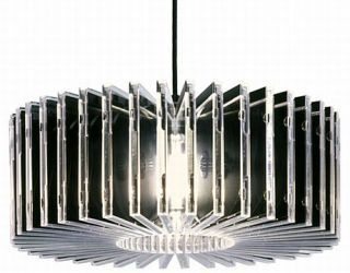 CD Case Chandelier