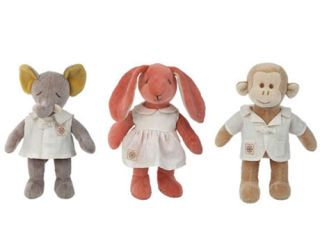 Organic Cotton Stuffed Animals