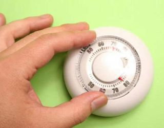 With high oil prices, adjusting your thermostat can help you save on high home heating oil prices.