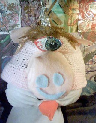 unicorn pig hat