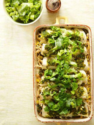 chicken and corn enchiladas recipe