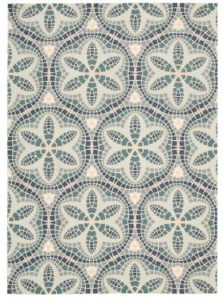 Green, Pattern, Textile, Teal, Turquoise, Aqua, Grey, Motif, Visual arts, Design,