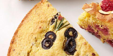 rosemary olive cornbread