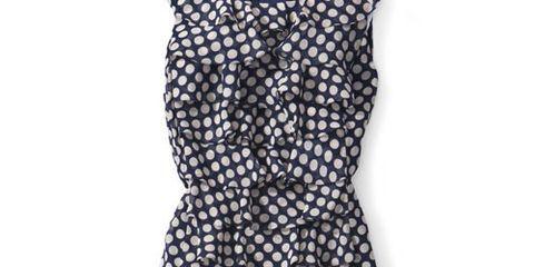 adrianna papell dress polka dots
