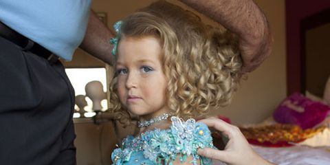 mia spargo getting ready for a pageant