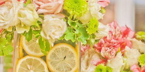 Lemon, Green, Citrus, Fruit, Meyer lemon, Sweet lemon, Petal, Citric acid, Flowering plant, Key lime,