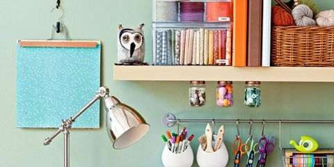 Organizing Craft Room - Craft Supplies Storage