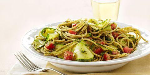 spaghetti pesto verde