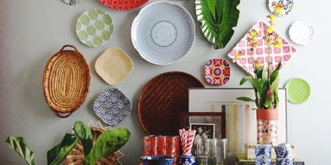 China Plates On The Wall