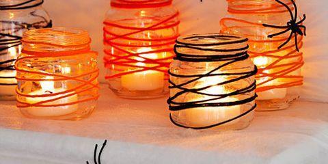 tangled web candle votive