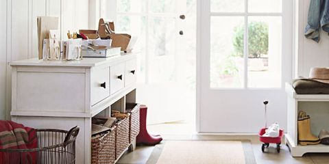 entryway organization - how to organize your entryway