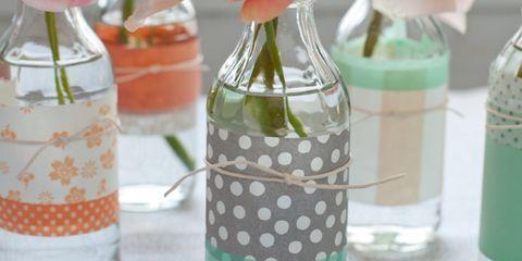 Liquid, Fluid, Bottle, Glass, Petal, Drinkware, Flower, Bouquet, Peach, Glass bottle,