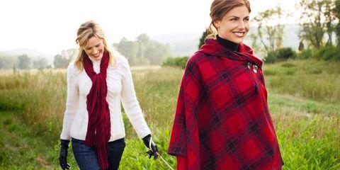 women in plaid fashion