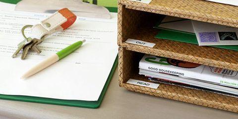 organizing bin