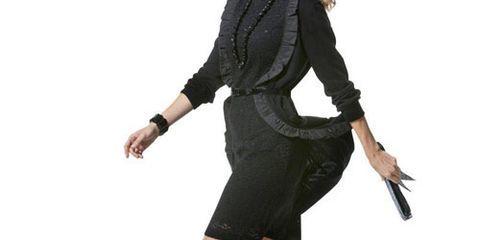 black on black dress it up