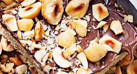brown sugar hazelnut bars