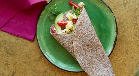 South of the Border Breakfast Wrap