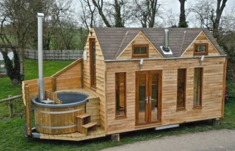 Tiny House With Hot Tub Unique Minimalist Homes