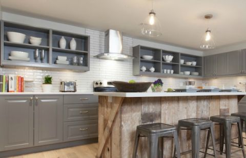 Updating kitchen cabinets on a budget
