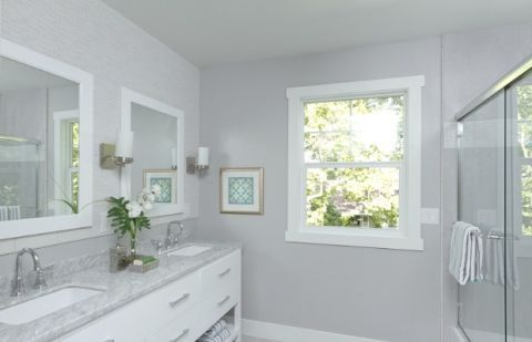 Arctic Blue Bathroom Paint Color