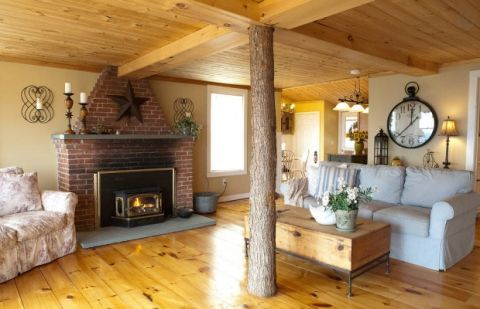 Cozy New Hampshire Cabin Cute Airbnb Cabins