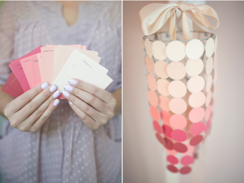 Finger, Hand, Pink, Pattern, Wrist, Peach, Paper product, Paper, Nail, Design,