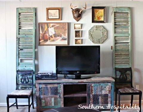 Decorate Your TV Wall - Home Decorating Ideas