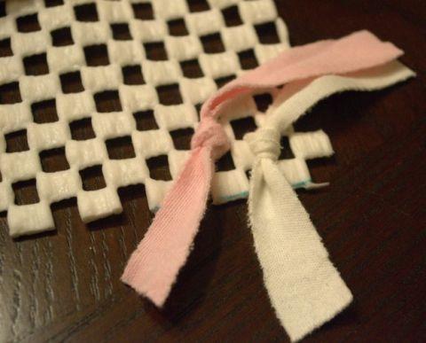DIY Shag Rug - Girl's Room Rag Rug Craft