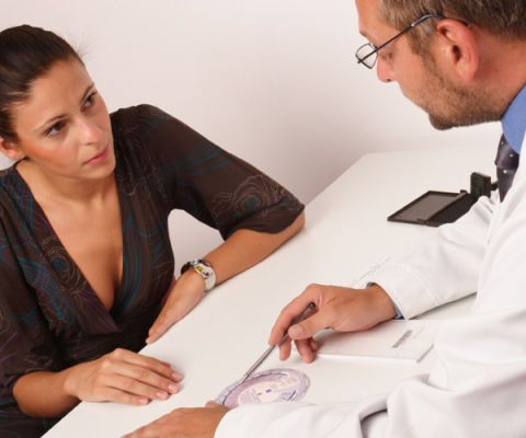a doctor and patient consultation