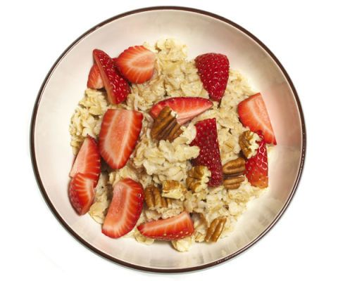 granola nuts fruit