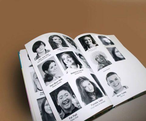school yearbook